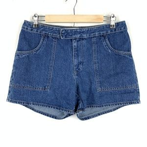 Vintage Gap High Rise Mom Jean Shorts 100% Cotton